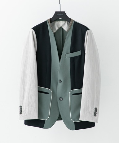 Beijing sp v neck jacket
