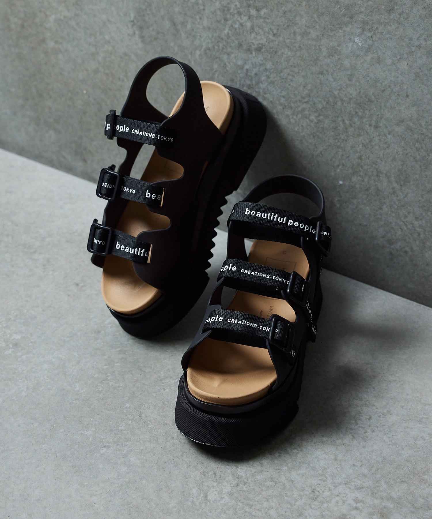<WEB限定>beautiful people with UNITED TOKYO sandals